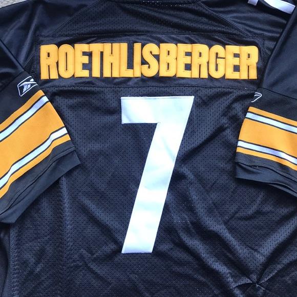 eed2bf459 Reebok Other | Steelers 7 Ben Roethlisberger Size Xl 54 Rbk | Poshmark